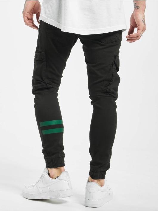 2Y Slim Fit Jeans Zeheb zwart