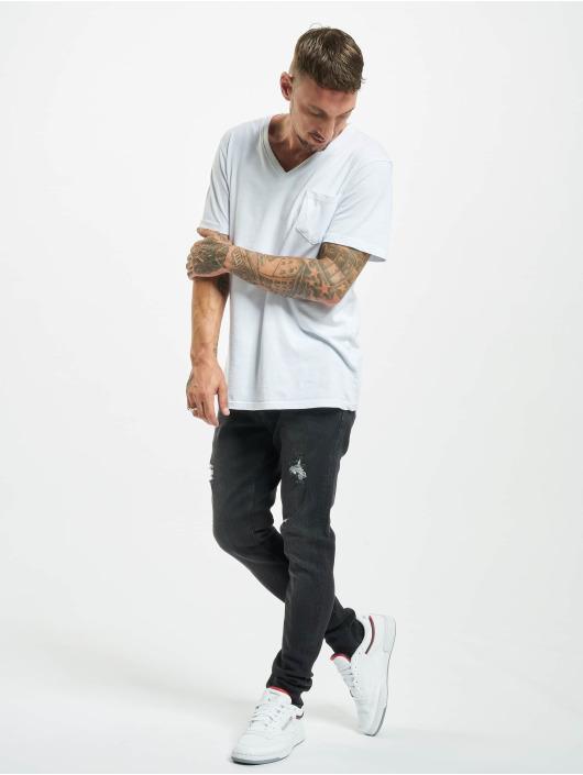 2Y Slim Fit Jeans Boran zwart