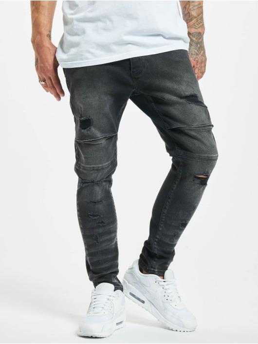2Y Slim Fit Jeans Emin zwart