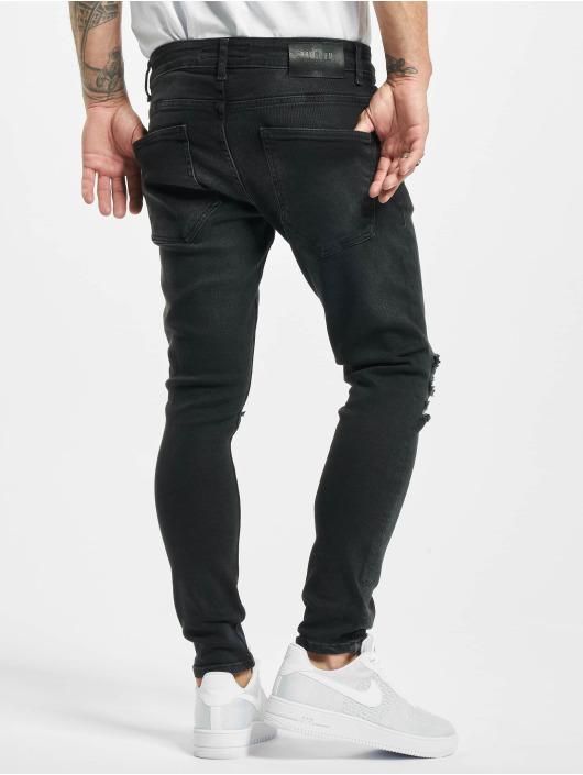 2Y Slim Fit Jeans Inan zwart