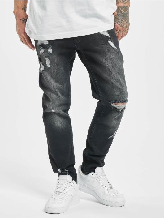 2Y Slim Fit Jeans Ralf zwart