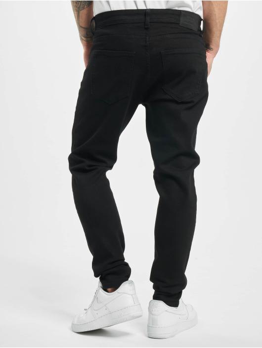 2Y Slim Fit Jeans Arthur zwart