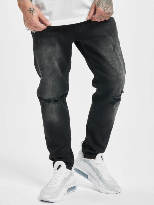 2Y Slim Fit Jeans George zwart