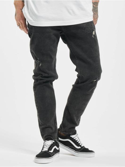 2Y Slim Fit Jeans Phil zwart