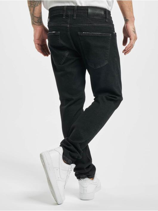2Y Slim Fit Jeans Noris zwart