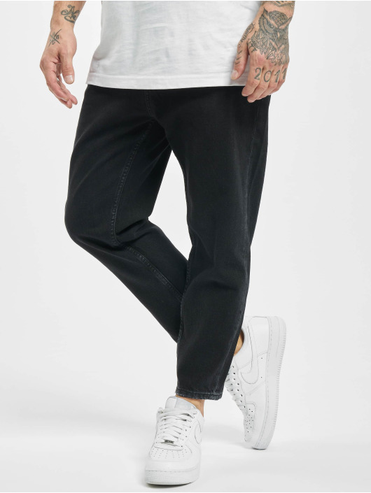 2Y Slim Fit Jeans Brian zwart