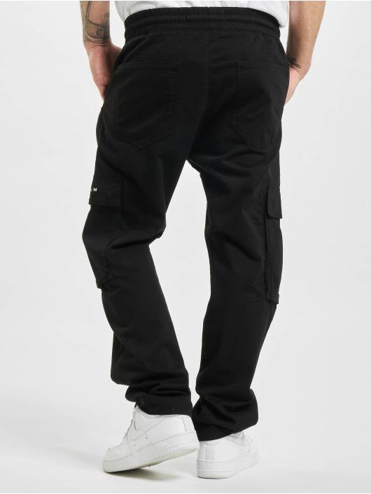 2Y Spodnie Chino/Cargo Waterbury czarny