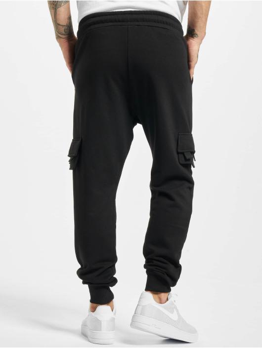 2Y Spodnie do joggingu Fatih czarny