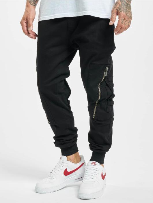 2Y Spodnie do joggingu Lodos czarny