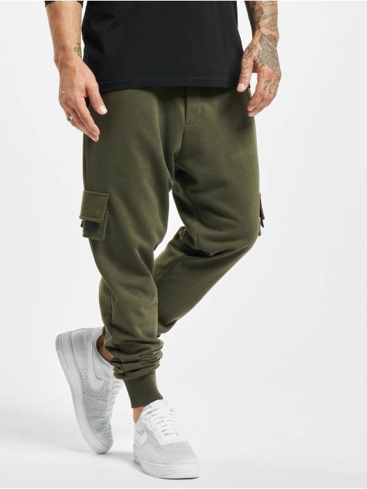 2Y Spodnie do joggingu Fatih khaki