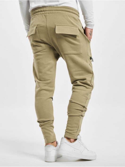 2Y Spodnie do joggingu Hannes khaki