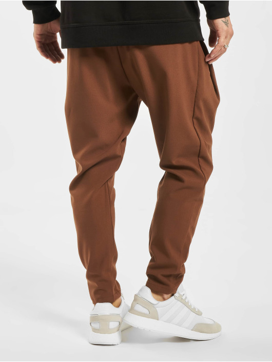 2Y Stoffbukser Luan brun