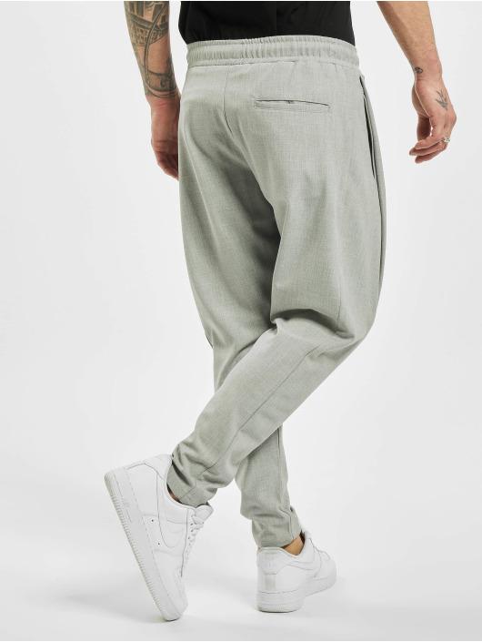 2Y Stoffbukser Luan grå