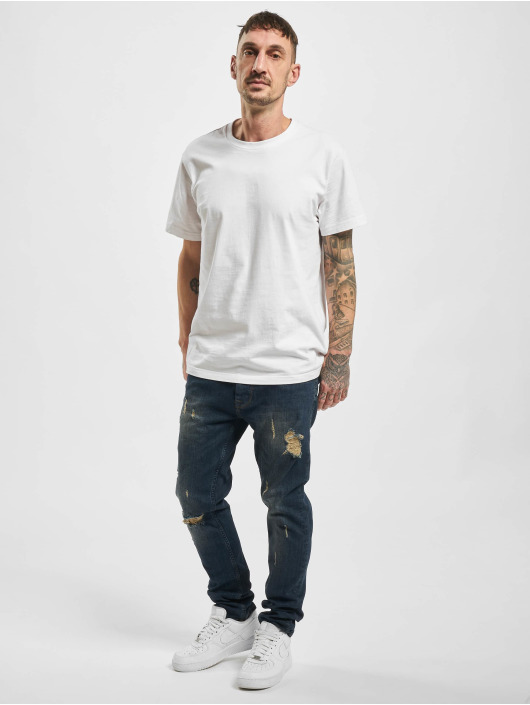 2Y Straight Fit Jeans Canan blau