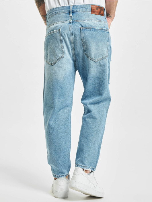 2Y Straight Fit Jeans Lowell blau