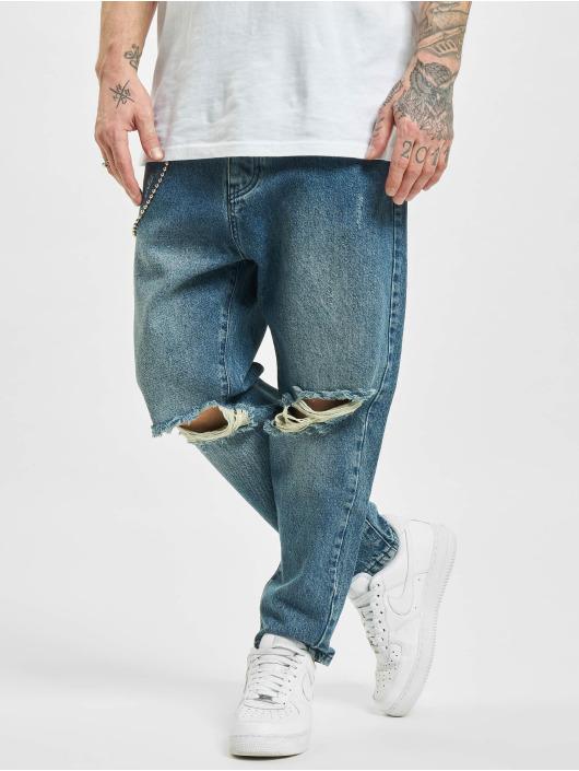 2Y Straight Fit Jeans Peoria blau