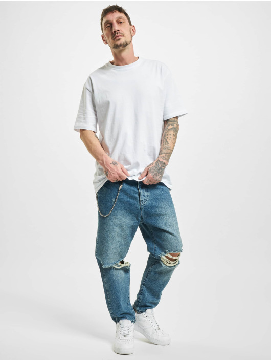 2Y Straight fit jeans Peoria blauw