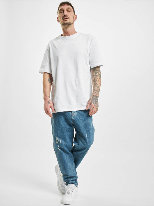 2Y Straight fit jeans Raleigh blauw