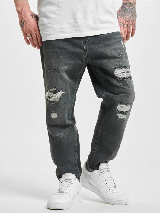 2Y Straight Fit Jeans Wesley grau