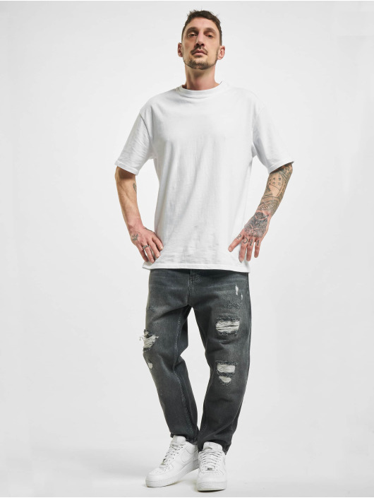 2Y Straight fit jeans Wesley grijs