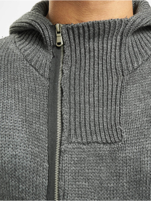 2Y Strickjacke Trunk grau