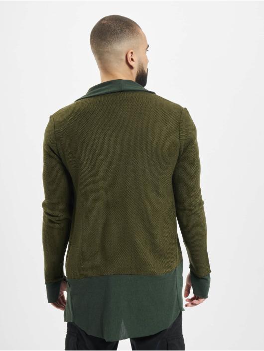 2Y Strickjacke Cardigan khaki
