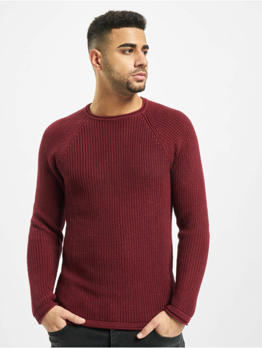 2Y Sweat & Pull Branch Knit rouge