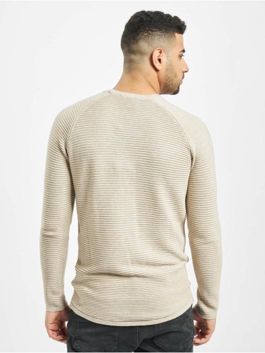 2Y Swetry Bark bezowy