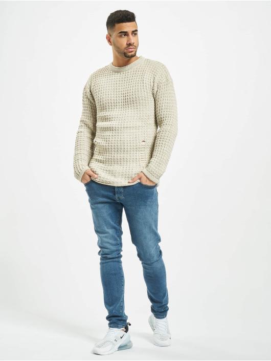 2Y Swetry Twig bezowy