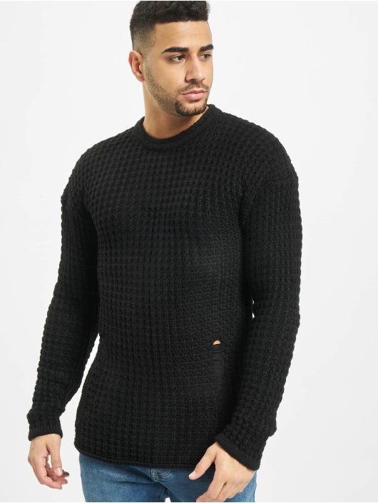 2Y Swetry Twig czarny