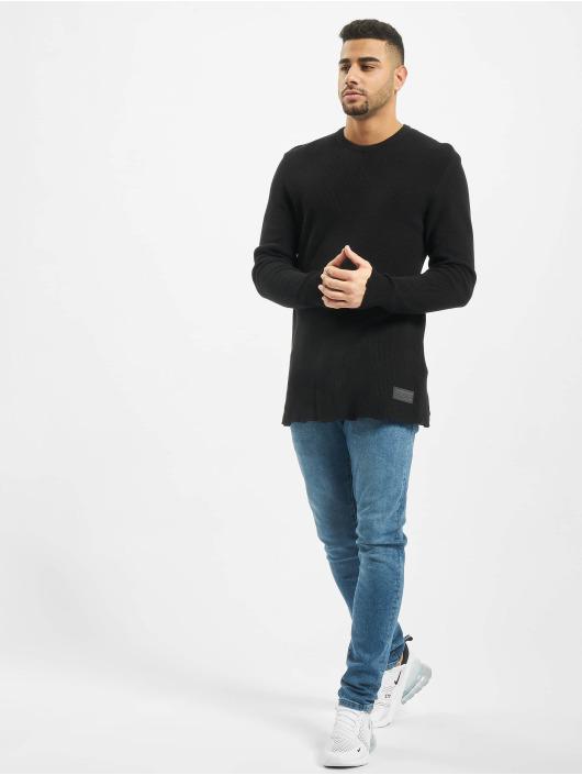 2Y Swetry Moss czarny