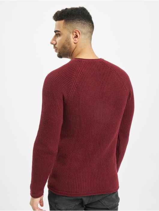 2Y Swetry Branch Knit czerwony