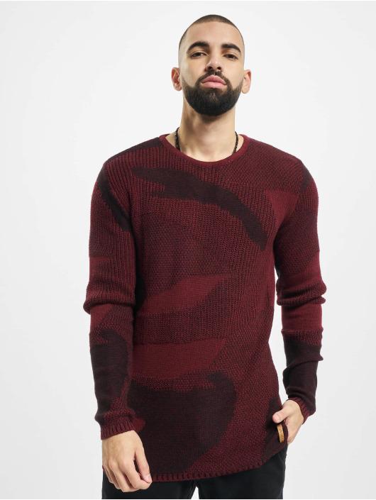 2Y Swetry Camo czerwony