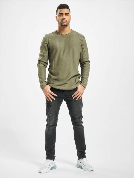 2Y Swetry Maple khaki