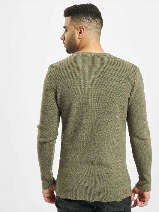 2Y Swetry Moss Knit khaki