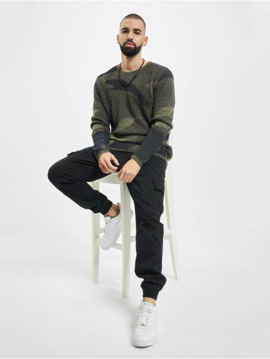 2Y Swetry Camo khaki