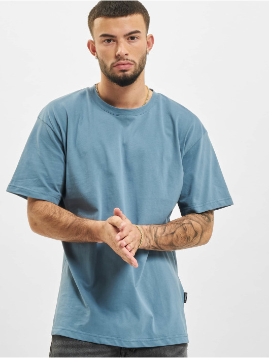 2Y T-Shirt Basic Fit blau