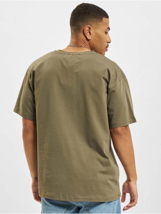 2Y T-shirt Basic Fit cachi