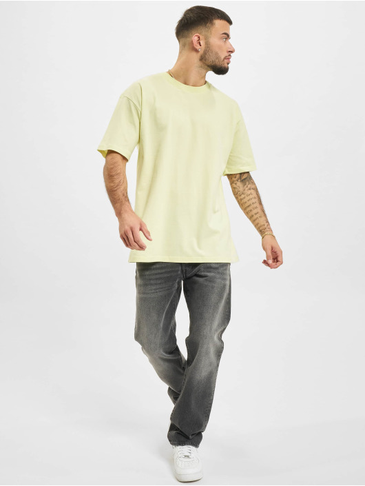 2Y t-shirt Basic geel