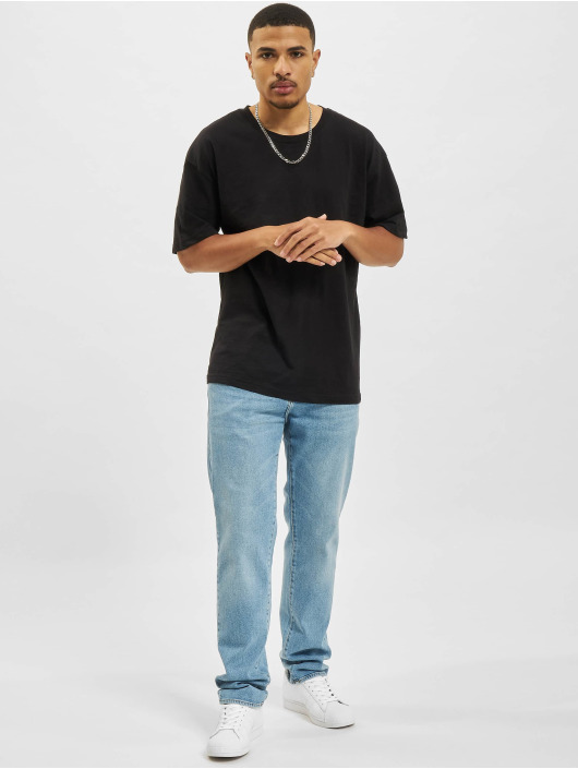 2Y T-shirt Basic Fit svart