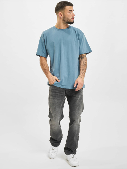 2Y T-shirts Basic Fit blå