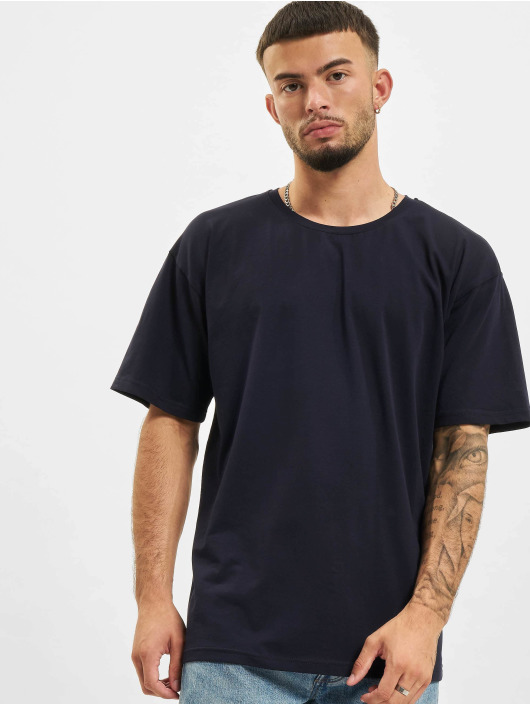 2Y T-shirts Basic Fit blå