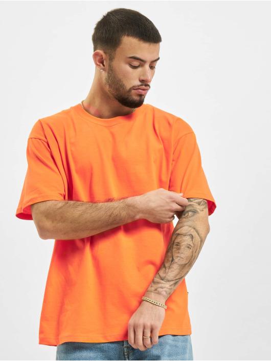 2Y T-Shirty Basic Fit pomaranczowy