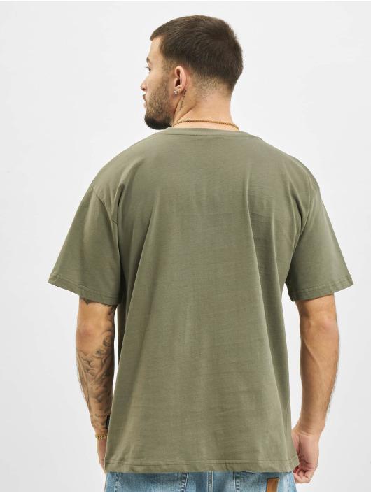 2Y T-skjorter Basic Fit khaki