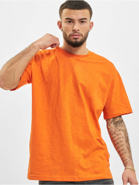 2Y Tričká Basic Fit oranžová