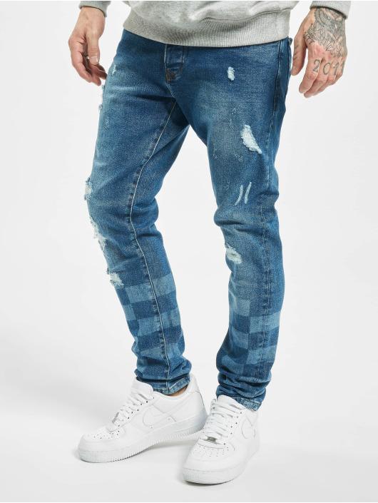 2Y Tynne bukser Levin blå