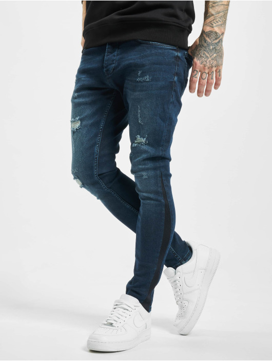 2Y Tynne bukser Zeki blå