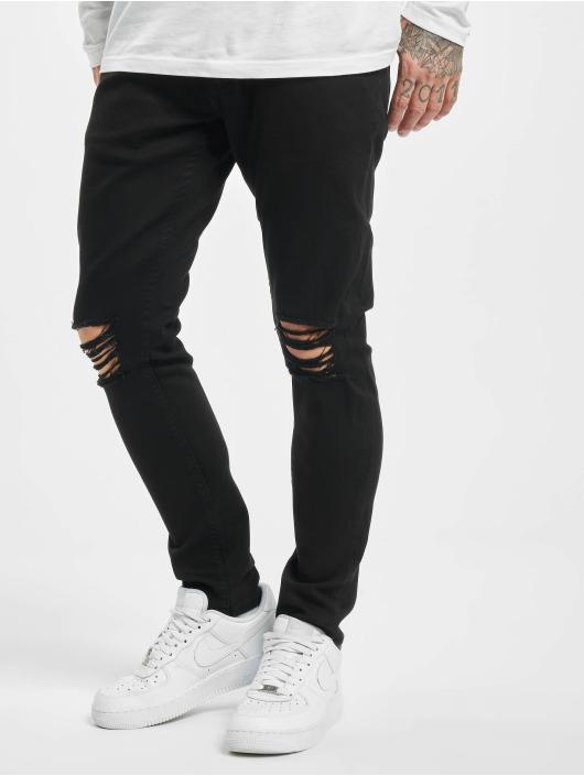2Y Tynne bukser Jeffrey svart