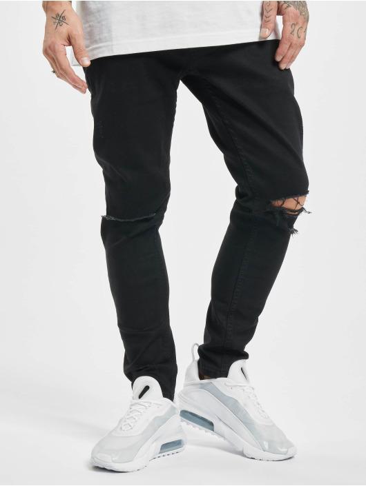 2Y Tynne bukser Jean svart