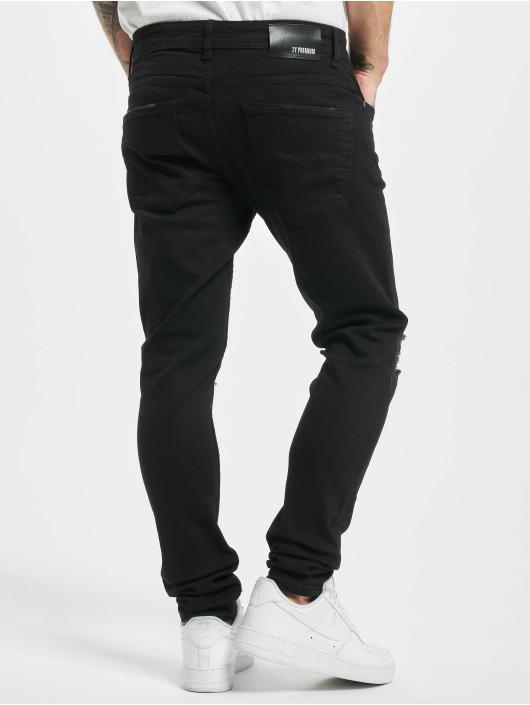 2Y Tynne bukser Jay svart